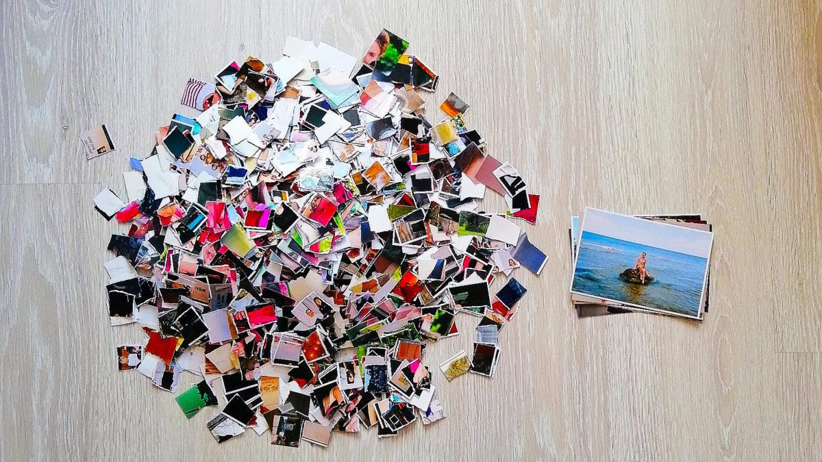Dlaczego wyrzucam zdjęcia – czyli minimalizm sentymentalny